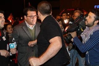 Acción 'informativa' de un piquete sindical en Mercamadrid: un puñetazo en el estómago a un reportero de Intereconomía