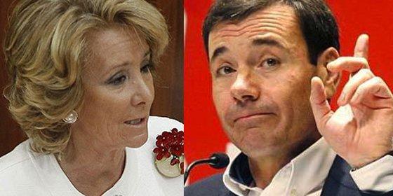 Esperanza Aguirre tiene cuatro veces más influencia en Twitter que Tomás Gómez