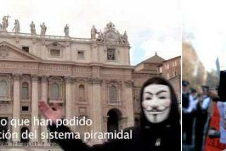 Anonymous ataca las webs del Vaticano