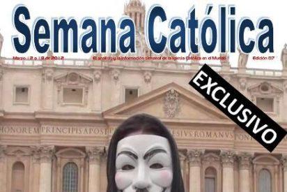 Anonymous atacará las webs de la visita del Papa a México y Cuba