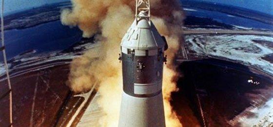 El fundador de Amazon localiza los motores del Apolo 11 en el Atlántico