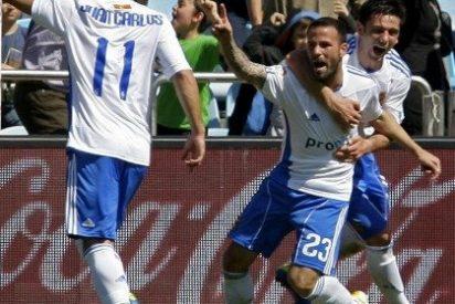 Un penalti en el 95' da el triunfo al Zaragoza ante el Atlético