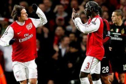 El Arsenal roza la proeza (3-0), pero queda eliminado de la Champions