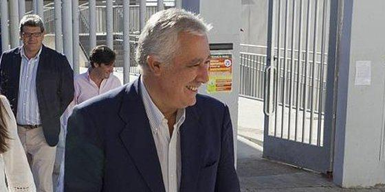 """Javier Arenas propone impulsar """"un pacto de Toledo a la andaluza"""""""