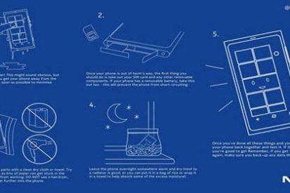 Secar el móvil con arroz no es un mito...Nokia lo recomienda