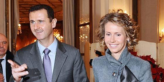 La mujer de al Assad, en la lista negra de la UE junto a su madre