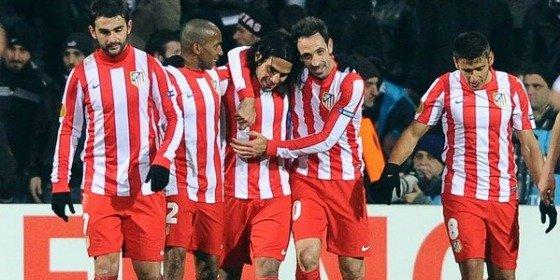 El Atlético de Simeone es un titán en la 'Europa League' (0-3)