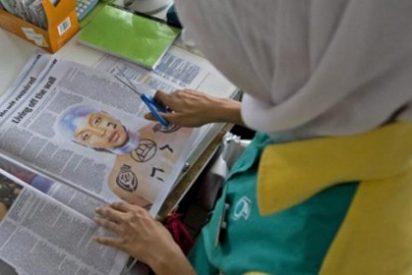 Dos editores son suspendidos por publicar una foto con la palabra 'Alá'