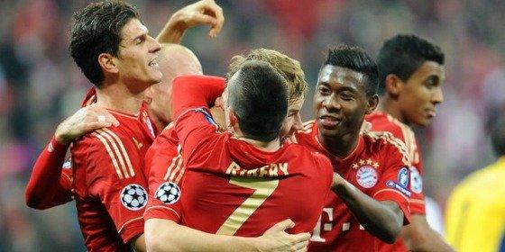 El Bayern se da un festín y muestra su candidatura en la Champions (7-0)