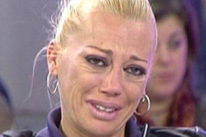 """Belén Esteban, llora y grita descontrolada para que Aída Nizar no trabaje en 'Sálvame': """"El otro día me llamó hija de puta, no puedo más"""""""