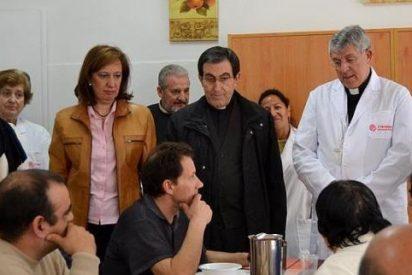 Braulio, voluntario en un comedor de Cáritas