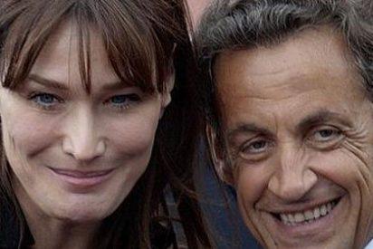 """Carla Bruni: """"Nicolas trabaja tanto que a veces temo que muera"""""""