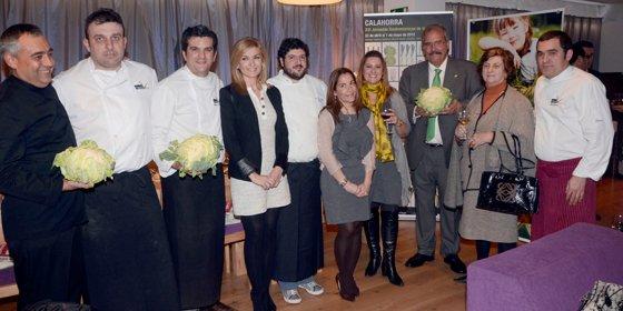 Verdura riojana en las XVI Jornadas Gastronómicas de Calahorra