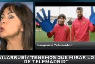 """Carme Barceló: """"Telemadrid ha manipulado para cargarse la imagen del Barcelona usando medios impresentables. ¡Hay que denunciarlo!"""""""