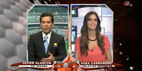 """Sara Carbonero en Televisa Deportes: """"Se espera un tropiezo del Madrid, pero no llega"""""""
