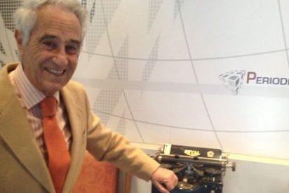 """José María Carrascal: """"Buruaga me echó de Antena 3 porque no era de confianza para Aznar"""""""