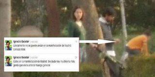 Nacho Escolar: tuits sobre el 29-M...¡desde el parque del Retiro!