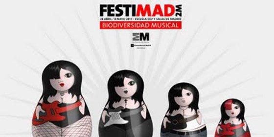 Vuelve el veterano festival madrileño Festimad 2M con más de 50 conciertos