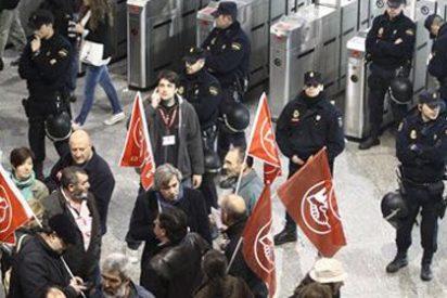 Nueve heridos y 58 detenidos en el arranque de la huelga