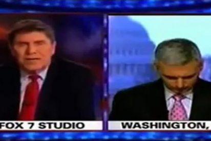 Un corresponsal de Fox se queda dormido en plena emisión del 'Supermartes'
