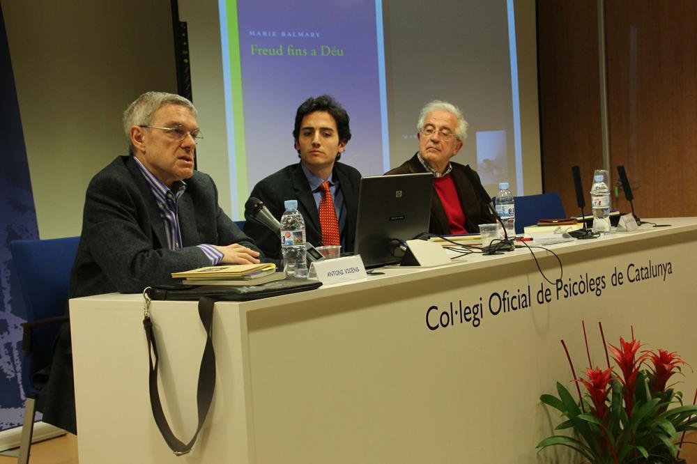Ramon M. Nogués y Antoni Vicens destacan la aportación de Marie Balmary al 'deshielo' entre la religión y el psicoanálisis
