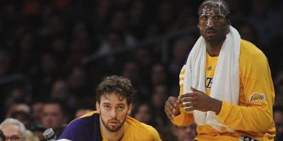 Bryant y Gasol no evitan la derrota de los Lakers en Wahington