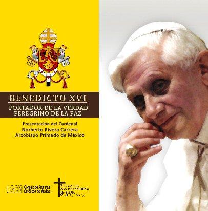 Comenzó la distribución de Benedicto XVI, portador de la Verdad, peregrino de la paz