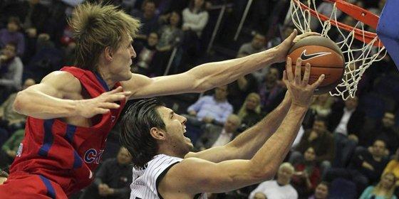 El Gescrap Bizkaia resiste en la Euroliga y derrota al CSKA