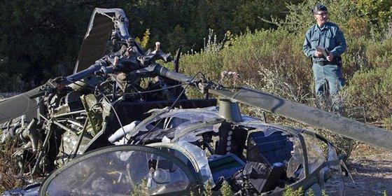 Tres muertos en un accidente de helicóptero entre Lebrija y El Cuervo