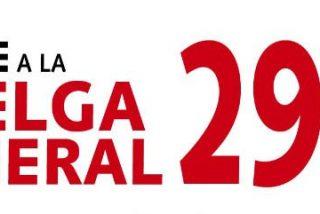 """Huelga General contra una """"reforma laboral injusta e injustificada"""""""