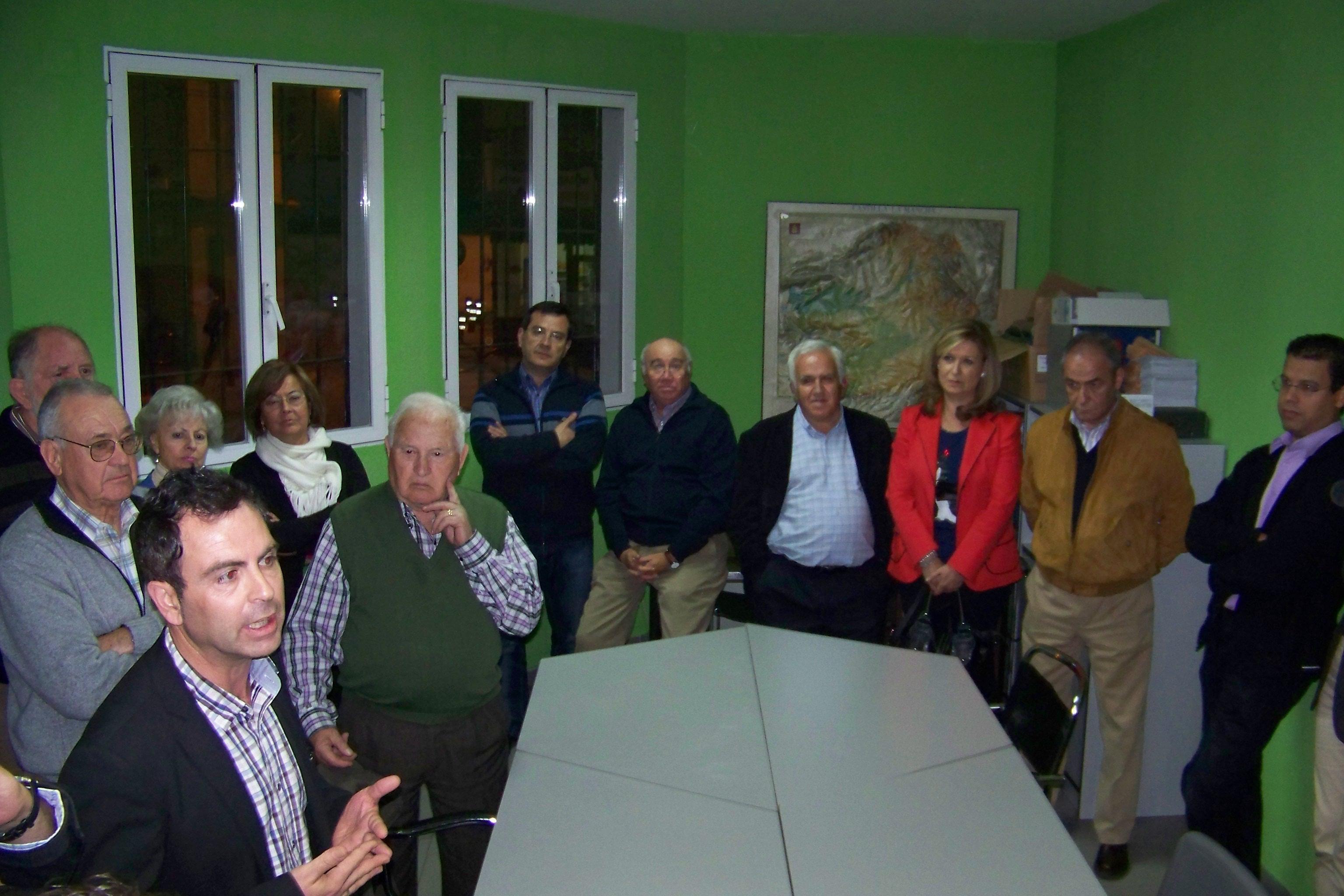 José Gutiérrez presenta su candidatura a la secretaría general del PSOE de Talavera