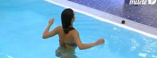 Momentazos eróticos de la brasileña de 'GH12+1' dándolo todo en la piscina y metiéndose en la ducha con ¡'Danonino'!