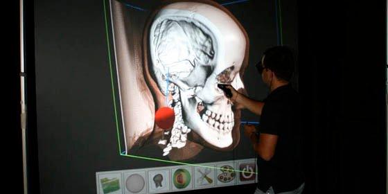 Una linterna 'fantástica' permite ver en 3D el interior del cuerpo humano