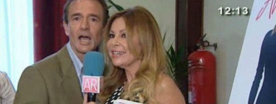 """Ana Obregón no sabe dónde meterse al ver a su ex, Lecquio, en la presentación de sus memorias: """"¡Tú has sido mi peor pesadilla!"""""""