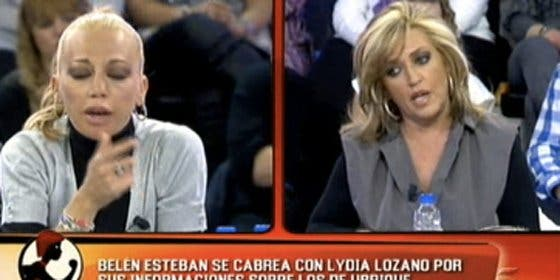 """Lydia Lozano deja las cosas muy claras y echa balones fuera: """"Belén Esteban no me soporta, sé que no le caigo bien"""""""