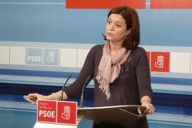 María del Carmen Moreno presenta su candidatura a la secretaría general del PSOE en Talavera