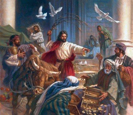 La indignación de Jesús