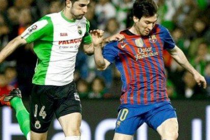 El Barcelona gana tres puntos fáciles en Santander (0-2)