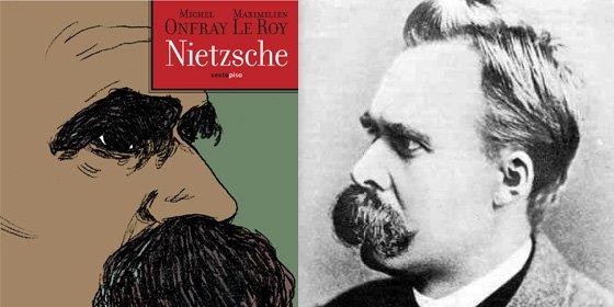 El filósofo hedonista Michel Onfray 'dibuja' el pensamiento de Nietzsche