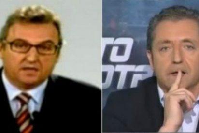 Josep Pedrerol machaca al director de 'Mundo Deportivo':