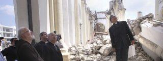 Se derrumba la iglesia que permanecía en pie en Puerto Príncipe