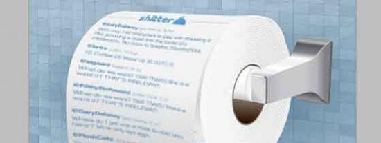 Sacan a la venta un papel higiénico para limpiarte el culo con los 'tuits'
