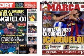 """Sport rescata """"uno de los términos favoritos de la 'caverna mediática' para meter presión al Real Madrid: el canguelo"""