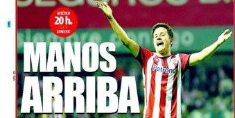 La prensa vizcaína estalla contra la LFP por el maltrato al Athletic