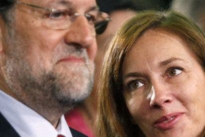 Elvira Fernández 'Viri', la esposa de Rajoy, está cómoda en Moncloa