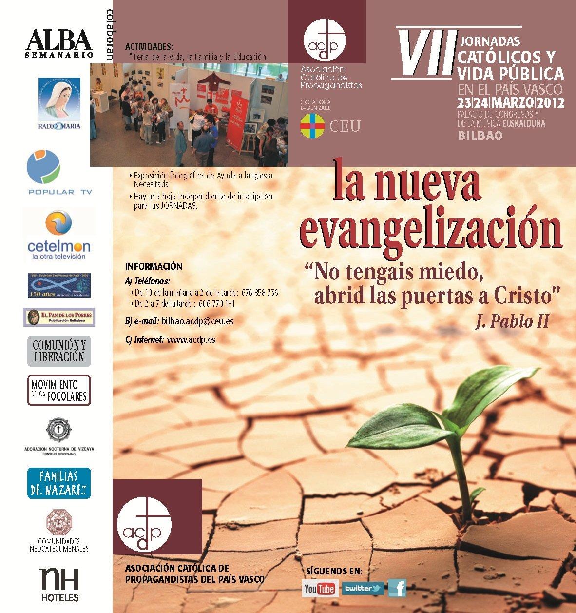 Bilbao acoge las VII Jornadas de Católicos y Vida Pública