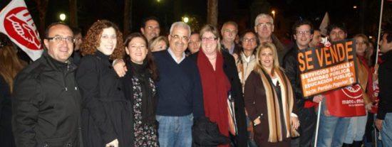 El Gobierno de Griñán y el PSOE-A siguen a Rubalcaba: se lanzan a la calle contra la reforma de Rajoy