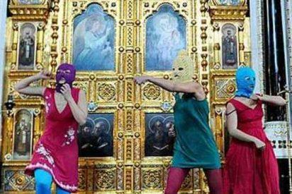 El Patriarca de Moscú acusa de profanación al grupo punk femenino Pussy Riot