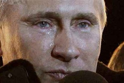Las lágrimas de Putin no eran de emoción sino de cirugía estética
