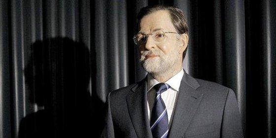 Rajoy ya tiene figura en el Museo de Cera junto a la Familia Real